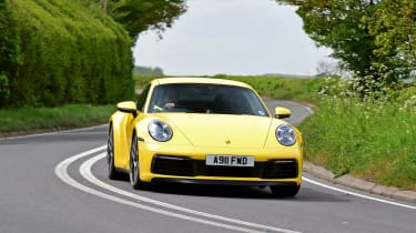 Porsche 911 - front cornering