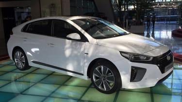 Hyundai Ioniq - Korea front quarter 1