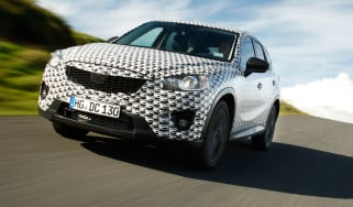 Mazda CX-5 front tracking