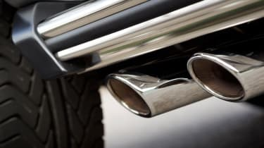 Mercedes G63 AMG exhausts