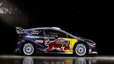 Ford Fiesta M-Sport WRC - side