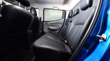 Mitsubishi L200 long termer - fourth report rear seats