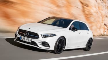 New Mercedes A-Class - white front