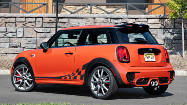 MINI John Cooper Works International Orange Edition - rear 3/4
