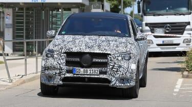 Mercedes GLE - spyshot 1