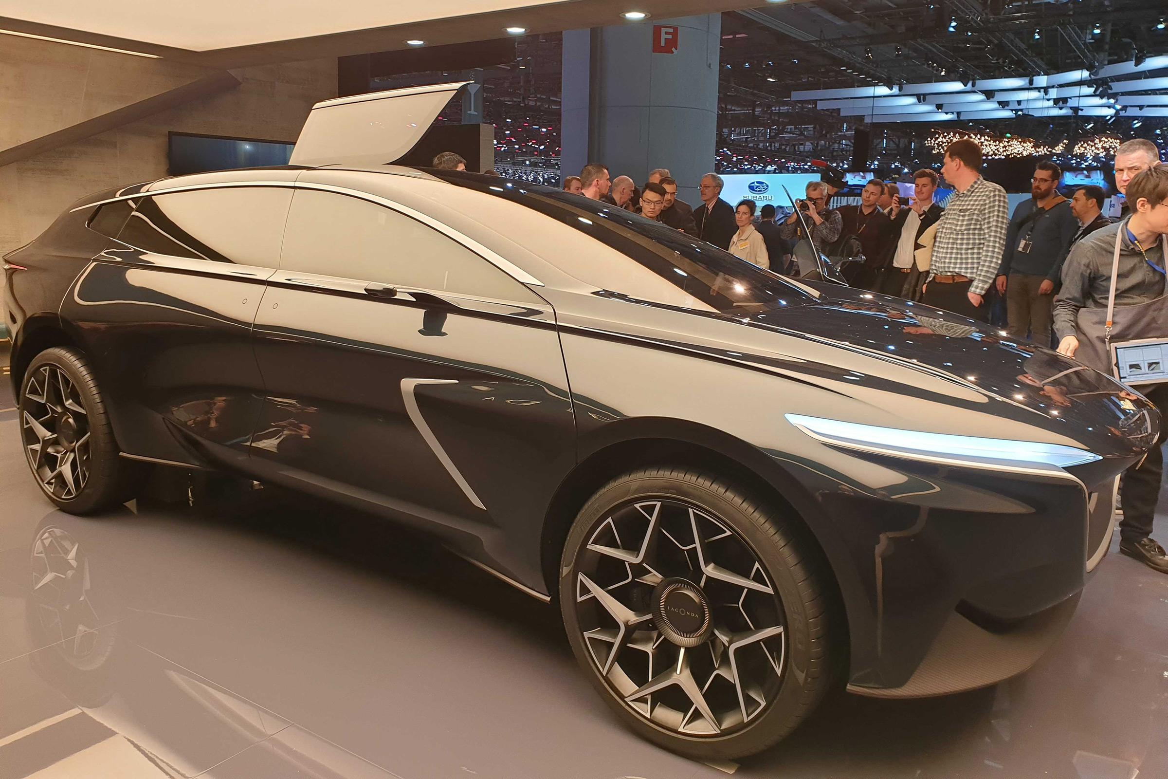 New Lagonda All Terrain Concept Previews 2022 Luxury Suv Auto Express