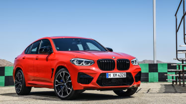 BMW X4M - front static
