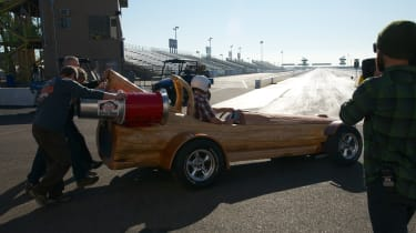 Cedar Rocket - Drag strip