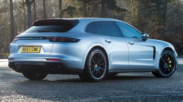 Porsche Panamera Sport Turismo rear static