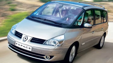 Front view of Renault Grand Espace