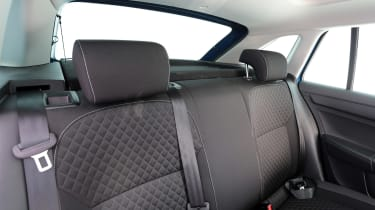 Used Skoda Rapid Spaceback - rear seats