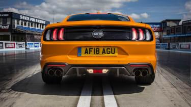 Ford Mustang V8 - full rear static