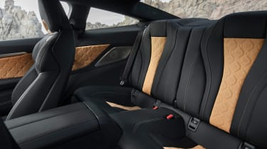 BMW M8 Competition - rear seats
