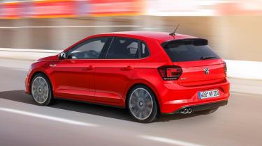 New Volkswagen Polo GTI - rear