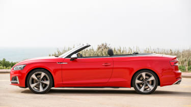 Audi S5 Cabriolet - roof down
