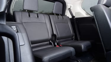 Toyota Land Cruiser - back seats