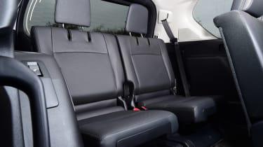 Toyota Land Cruiser - back seats