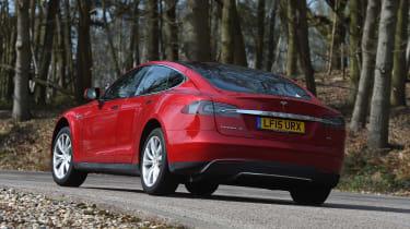Tesla Model S long-term final report - rear cornering