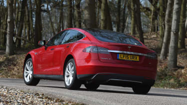 Tesla Model S long-term final report - rear cornering