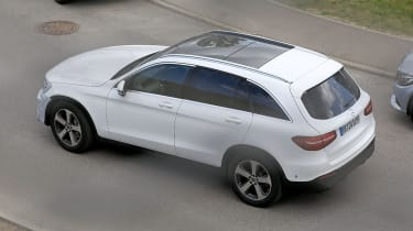 Mercedes GLC facelift rear