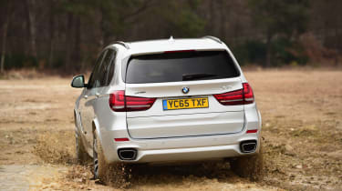 BMW X5 xDrive40e hybrid - rear