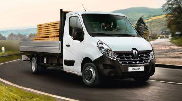 Renault Master Aluminium Tipper
