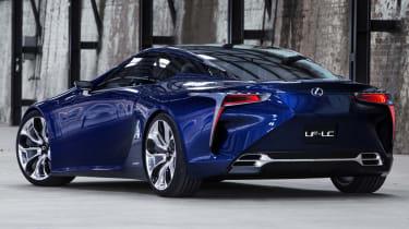 Lexus LF-LC Blue concept rear