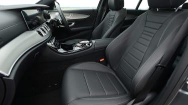 Mercedes E 350d 2016 - front seats