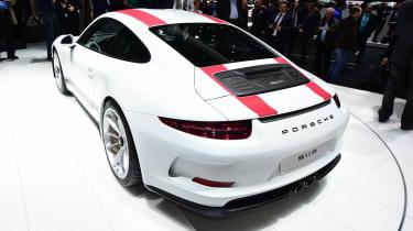 Porsche 911 R - Geneva show rear