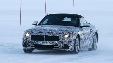 BMW Z4 spy shot front