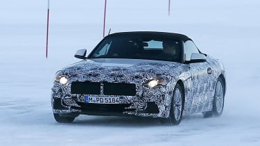 BMW Z4 spy shot front