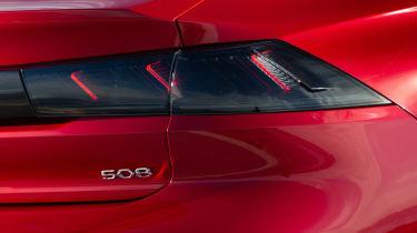 Peugeot 508 - taillight