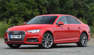 Used Audi A4 Mk5 - front
