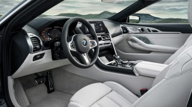BMW 8 Series Convertible - interior
