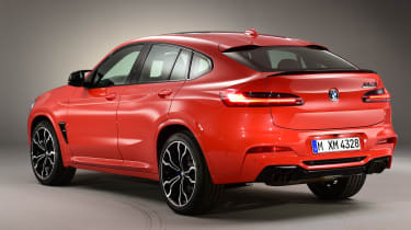 BMW X4M - rear