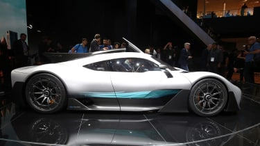 Frankfurt - Mercedes-Benz Project ONE - side