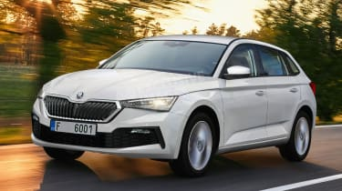 Skoda Scala - front (watermarked)