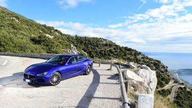 Maserati Ghibli facelift - front static view