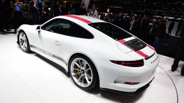 Porsche 911 R - Geneva show rear/side