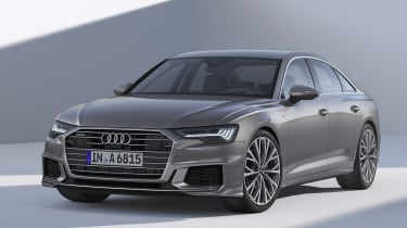 New Audi A6 - studio front