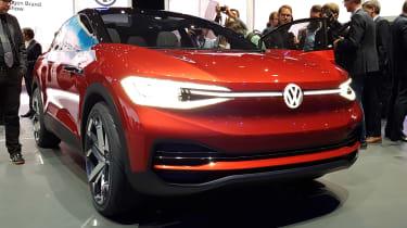 Volkswagen I.D. Crozz II - show front