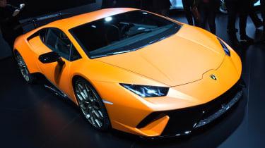 Lamborghini Huracan Performante show - front