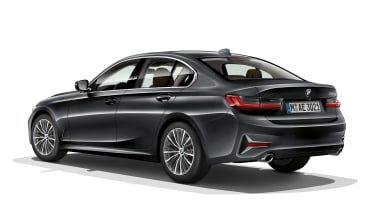 BMW 3 Series - rear static grey