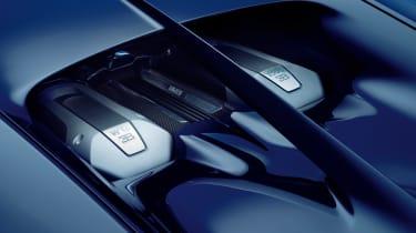 Bugatti Chiron - engine detail