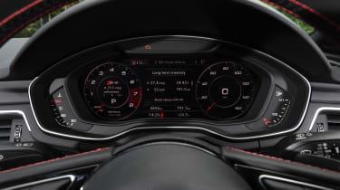 Audi S5 Cabriolet - speedo