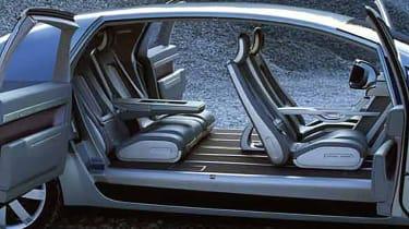 GM Hy-Wire - interior