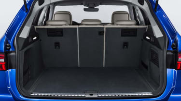 Audi A6 Avant - boot seats up
