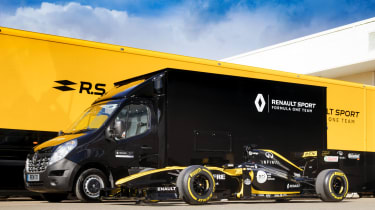 Renault Master F1 conversion - F1 front 3/4