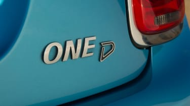 Used MINI - One D badge