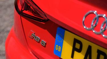 Audi RS5 - RS5 badge